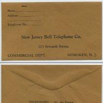 Image of insert 4: return envelope(253 7th St.); back