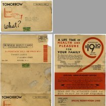 Image of 1: direct mail solicitation, real estate building plots for sale