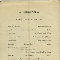 Image of pg [2] Program; Graduating Exercises