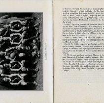 Image of photo: Basketball Team 1922; pg 17