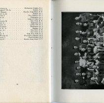 Image of pg 48; photo Lacrosse Team, 1921.