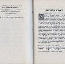Image of pp 6-7: Stevens School; Cooperation of Stevens Institute