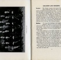 Image of [photo] Lever Staff 1922 (school newspaper); pg 9 Location & Building