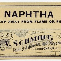 Image of 4: Naptha; A. Schmidt, Pharmacist