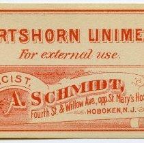 Image of 6: Hartshorn Liniment; 5; A. Schmidt, Pharmacist
