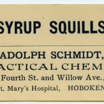 Image of 1: Syrup Squills; Adolph Schmidt, Practical Chemist