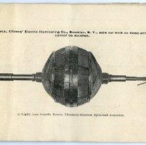 Image of pg [13] photo: 50 Light, 2,000 Candle Power, Thomson-Houston Spherical ...