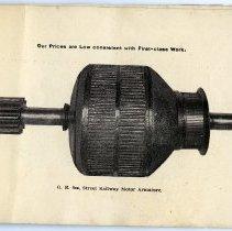 Image of pg [21] photo: G.E. 800, Street Railway Motor Armature.