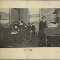 Image of pg [3] photo: The Office. [William Short Cresley seen at center]