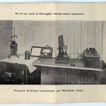 Image of pg [4] photo: Thompson Refecting Galvanometer and Wheatstone Bridge
