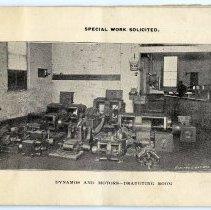 Image of pg [5] photo: Dynamos and Motors - Draugting [drafting] Room