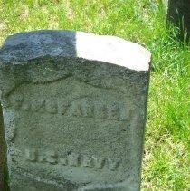Image of military gravestone: F. McFadden, U.S. Navy
