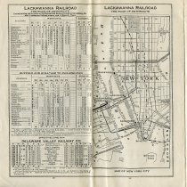 Image of pp 23-24 Map of New York City (including Hoboken)
