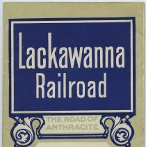 Image of Timetable: Lackawanna Railroad. ...Between New York & Buffalo; ...Chicago. June 9, 1917.  - Timetable