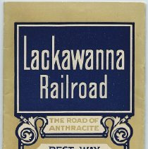 Image of Timetable: Lackawanna Railroad. ...Between New York & Buffalo; ...Chicago. Sept. 27, 1931. - Timetable