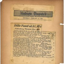 Image of leaf 5-2 Dille Fund at $1,973, Feb. 13, 1969 (Guttenberg fireman)