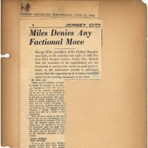 Image of leaf 9 Miles Denies Any Faction Move, June 24, 1942