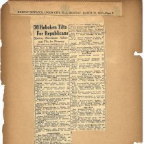 Image of leaf 1-2 30 Hoboken Tilts for Republicans, March 12, 1951