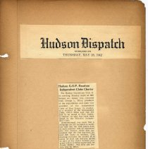 Image of leaf 3 Hoboken G.O.P. Receives Independent Club Charter, May 28, 1942
