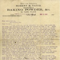 Image of letter, page 1 of 2