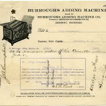 Image of 4: Burroughs Adding Machine Co. (formerly American Arithometer Co.), 1905