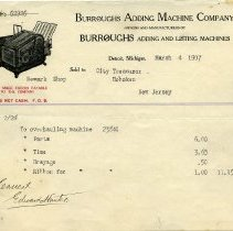 Image of 5: Burroughs Adding Machine Co., 1907