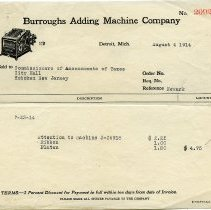 Image of 6: Burroughs Adding Machine Co., August 1914