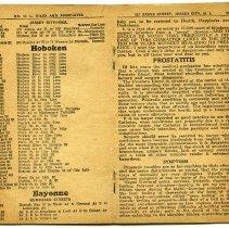 Image of pp 24-25: Hoboken street list (enhanced)