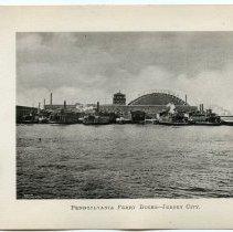 Image of [12] Pennsylvania Ferry Docks - Jersey City