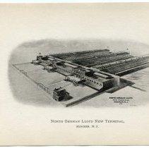 Image of [4] North German Lloyd New Terminal, Hoboken, N.J.