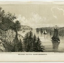 Image of Print: Hudson River From Hoboken