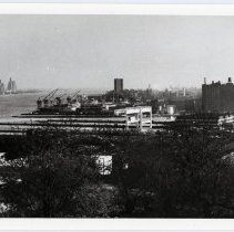 Image of view of northeast Hoboken from Union City