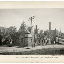 Image of [23] Holy Innocents Episcopal Church - Willow Ave; American Lead Pencil Co.