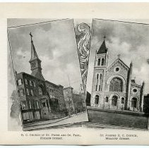 Image of [27] St. Peter & St. Paul, Hudson St.,; St. Josephs, Meadow St.