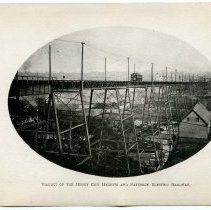 Image of [28] Viaduct of the Jersey city Heights & Paterson Electric Railway