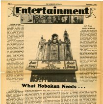 Image of pg 6 Entertainment; review - Jessica; What Hoboken Needs