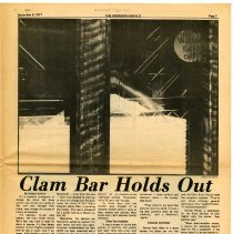 Image of pg 7 Clam Bar Holds Out (Clam Broth House, women not allowed in bar)