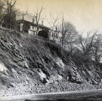 Image of enhanced image: Castle Point, Castle Stevens, from River Walk, ca. 7th St.
