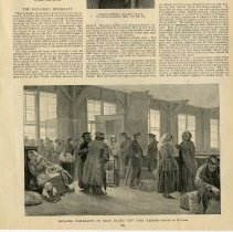 Image of article: The Detained Immigrant; with illustration page 821
