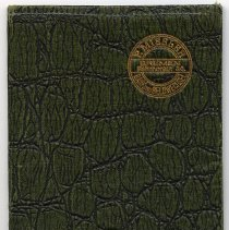 Image of wallet: front cover