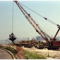 Image of 1: pier demolition