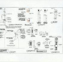 Image of leaf 7: Sheet C4, Site Elevation & Antenna/RHH Details