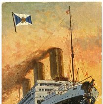 Image of Postcard: Hamburg-Amerika Linie. S.S. Vaterland. Ca. May 1914. - Postcard