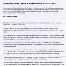 Image of press release page 1 of 2