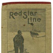 Image of Wallet, ticket: Red Star Line. Anvers New York; Antwerpen Amerika. - Wallet