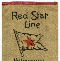 Image of Wallet, ticket: Red Star Line. Antwerpen - Amerika; Antwerpen - Canada. - Wallet