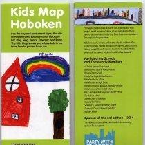 Image of Kids Map Hoboken. Hoboken Historical Museum, Hoboken, N.J. 2014. 3rd edition. - Map