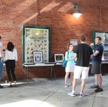 Image of Color photos, 234, of Secret Gardens Tour, June 1, 2014, presented by the Hoboken Historical Museum.  - Photograph