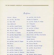 Image of pg [30] Benefactors; pp [31-32], blank