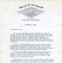 Image of Letter from Mayor